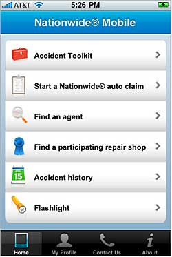 Nationwide Insurance Consumer iPhone Application